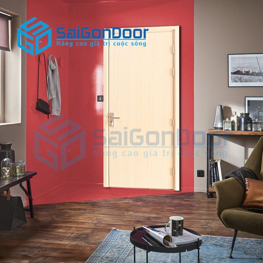 Cửa nhựa căn hộ cao cấp cách âm SYB.P1-B01