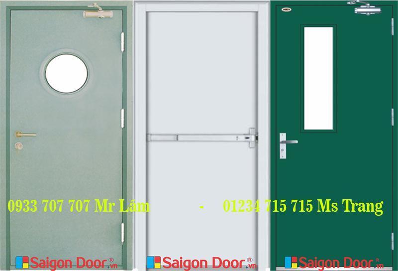 Khả năng ứng dụng linh hoạt trong nhiều không gian của cửa thoát hiểm