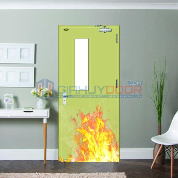 Cửa thép chống cháy là gì?